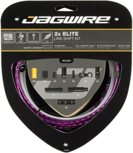 Jagwire 2x Elite Link Shift Cable Kit SRAM//Shimano Polished Ultra-Slick Cable