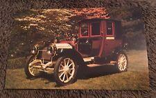 Vintage Postcard Unposted Auto Automobile 1912 Packard Model 18 Landaulet