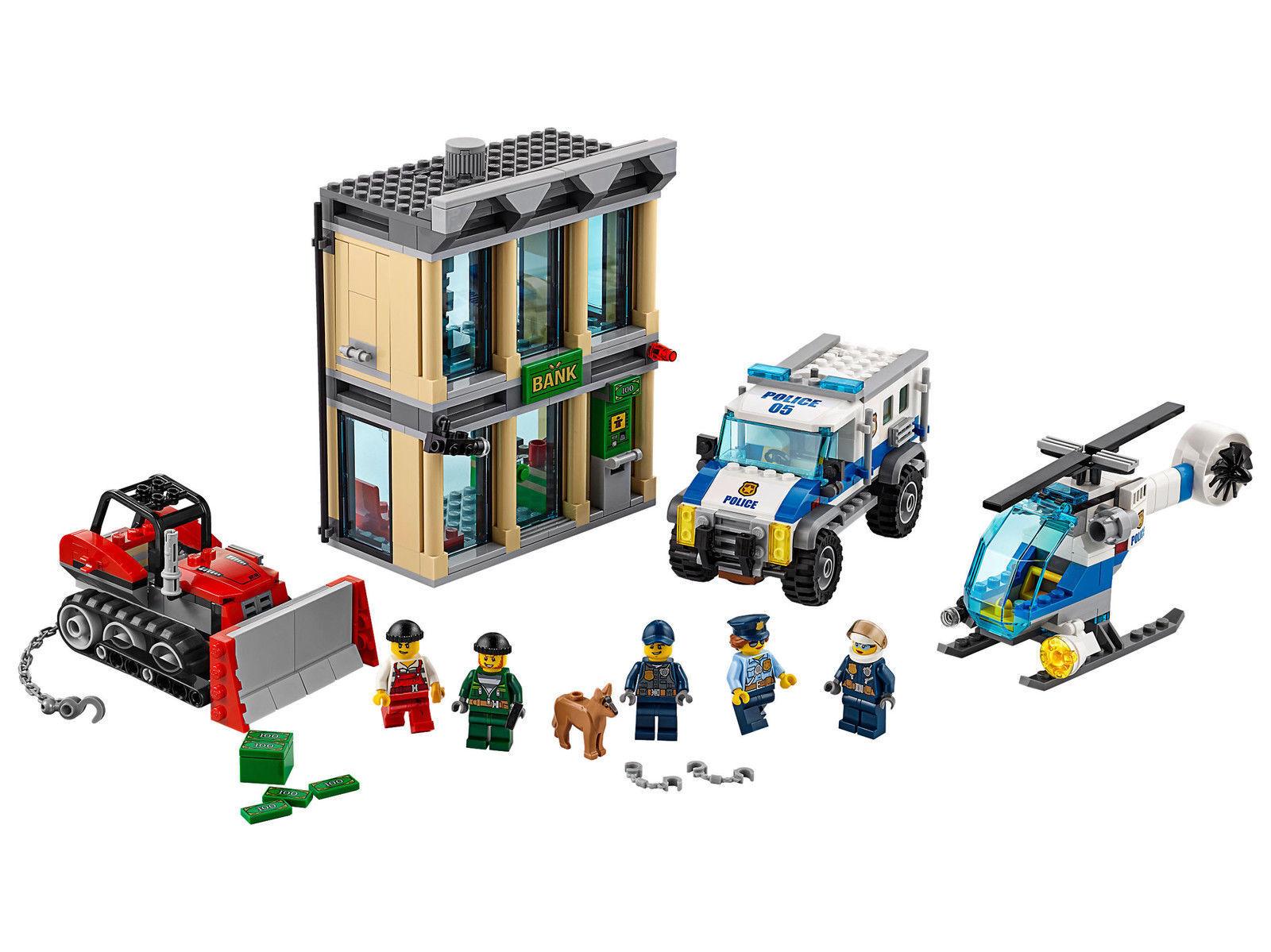 Lego City Police Bulldozer Break-in 60140