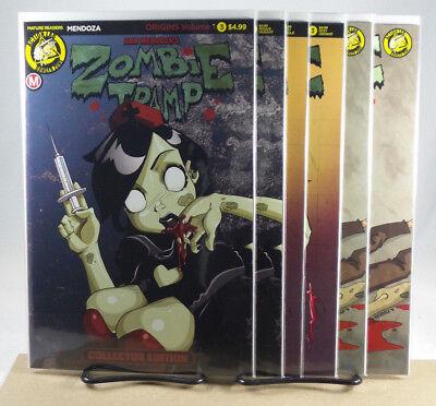 Zombie Tramp #34 Variant Cover A C D E F Set Action Lab Comics 2016