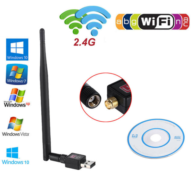 with 802.11N//G//B Antenna Wirless Network LAN Card 802.11A//G//N//Ac 600Mbps Dual Band Wireless USB WiFi Adapter