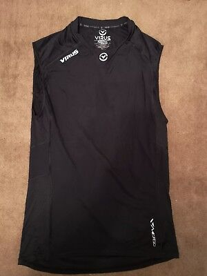 United New Condition Mens Black Virus Compression Running Ironman Top Size Xl Clothing, Shoes & Accessories