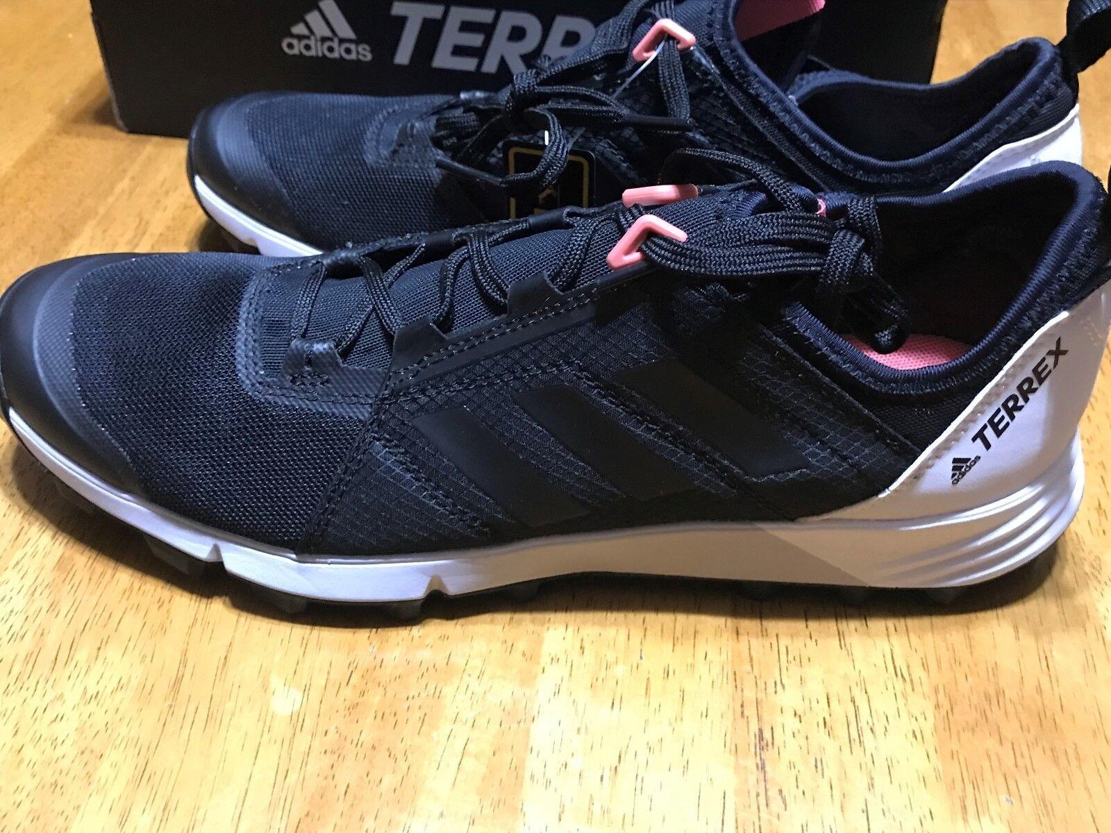 Women's Adidas Terrex Agravic Speed shoes Black White size 9 9 9 NIB efc7fa