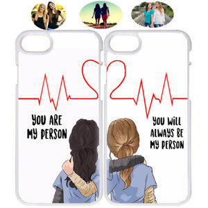 Fashion You Re My Person Best Friend Bff Phone Case Cover For Iphone Samsung Ebay