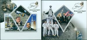 Apollo-11-Crew-50-Anniversary-Moon-Exploration-Space-NASA-MNH-stamps-set