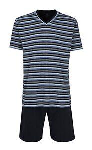Götzburg Herren Schlafanzug Pyjama Shorty Klima Aktiv 451910 622