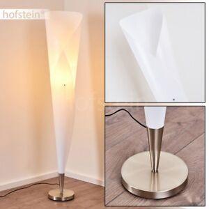 Lampadaire-blanc-Retro-Lampe-sur-pied-Metal-Design-Lampe-de-chambre-a-coucher