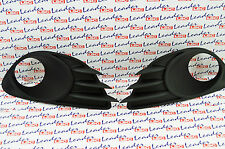 GENUINE Vauxhall CORSA D VXR -PAIR FRONT FOG LIGHT SURROUNDS GRILL / GRILLE -NEW