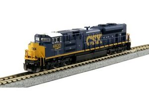 Kato-176-8436-N-Scale-EMD-SD70ACe-CSX-4835-DCC-Ready-Locomotive