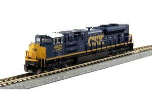 Kato-176-8436-N-Scale-EMD-SD70ACe-CSX-4835-DCC-Ready-Locomotive
