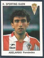 PANINI FUTBOL 93-94 SPANISH -#279-R.SPORTING GIJON-ABELARDO FERNANDEZ