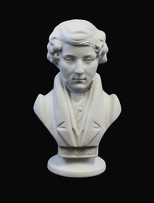 Porcelain Bust Rossini Bisque Wagner & Apel H15 Other Antique Ceramics 5cm 9942309 Decorative Arts
