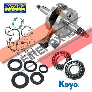 Wiseco Kawasaki KX80 KX85 KX100 Bottom End Rebuild Kit Crank Seals Gaskets
