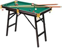 """48"""" Mini Pool Billiard Foldable Game Table Portable With Accessories New"""