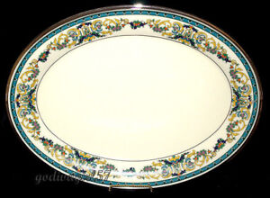 Lenox-Fair-Lady-OVAL-SERVING-PLATTER-LARGE-17-1-4-034-Excellent