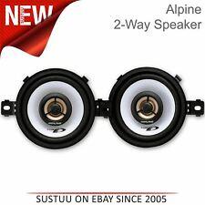 "Alpine SXE-2035s 20cm 8/"" 3-Way Car Coaxial Speakers 560W Total Power"