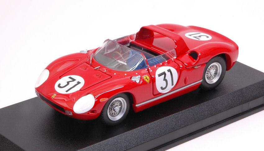 FERRARI 250 P  31 2nd 12 H Sebring 1963 Mairesse VACCARELLA BANDINI 1 43