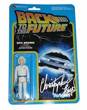 Christopher Lloyd Signed Back To The Future BTTF Funko Figure With Exact Proof