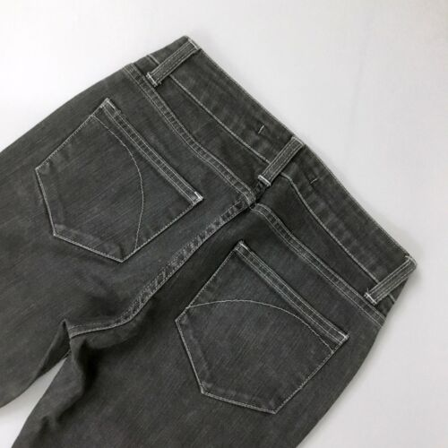 Gris Taille Droite Coupe Basse 25 Denim London Jeans Jeans Taille Superfine Uk8 Femmes 1vSwpqaf