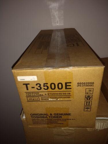 4x Toshiba Toner T-3500E 450g für e-Studio 45//35//28