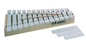 Goldon-11160-13-plus-3-Sound-plaques-Alto-Metallophone-Glockenspiel-2-batteurs