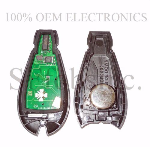 NEW W//OEM ELECTRONICS DODGE CHARGER CHALLENGER MAGNUM KEYLESS REMOTE FOB FOBIK