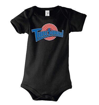 Sinnvoll Trvppy Baby Body Strampler Modell Tune Squad Kinder Shirt Mit Den Modernsten GeräTen Und Techniken
