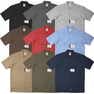 Dickies-Men-039-s-Shortsleeve-Work-Shirt-Style-1574