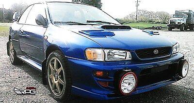 RPG Prodrive WRC S5 Hood Vent w// Water Tray for Subaru Impreza GC8 STi WRX 22B