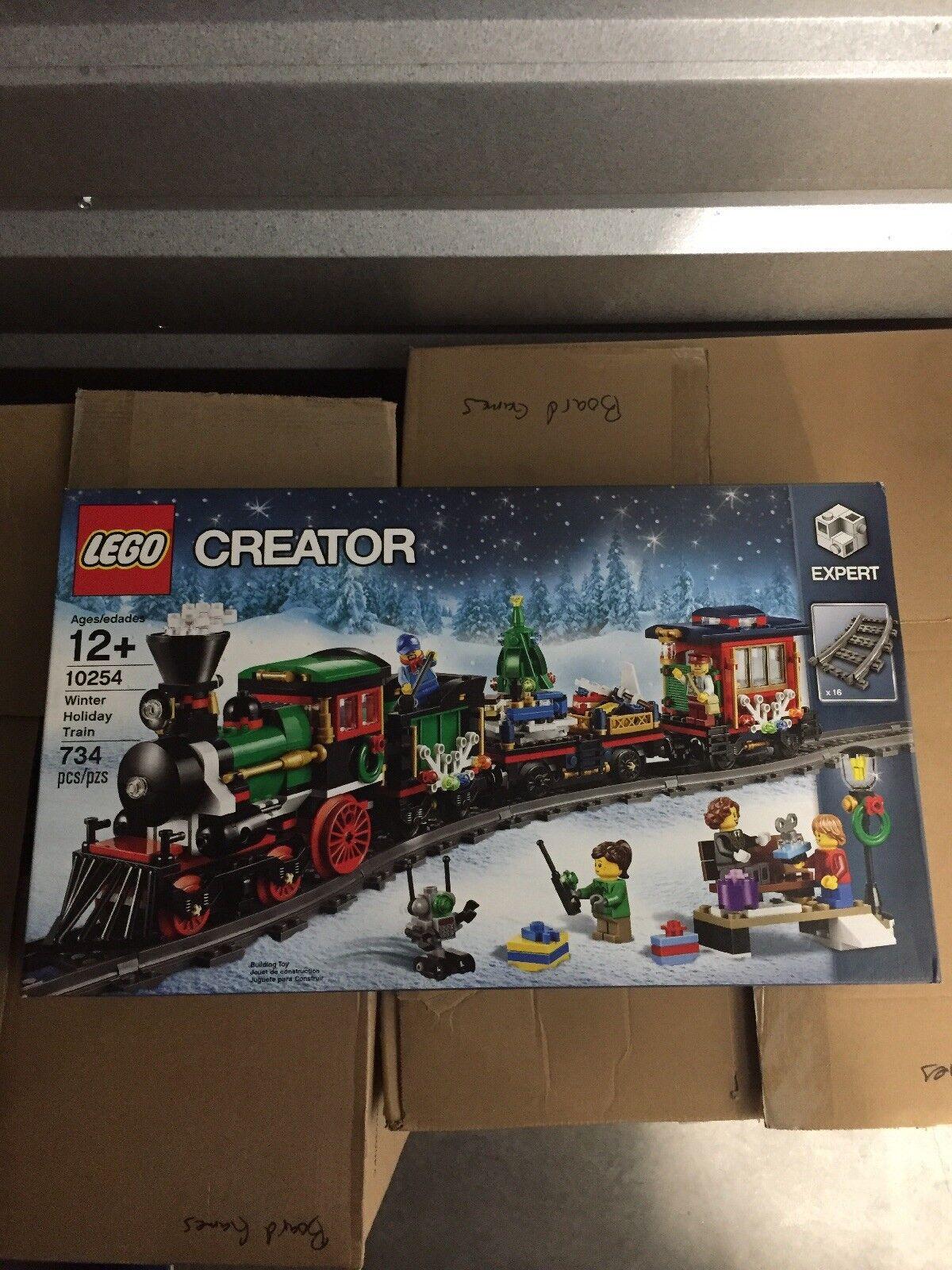Skaparen av Lego Winter Holiday Train (10254) Ny  förseglad Svårt att hitta och sälja ut