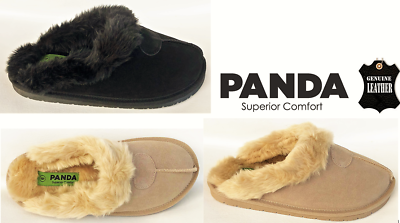 Womens Suede Leather Comfort Slipper Slides Eros By Panda Superior Comfort Clearance Price Clothing, Shoes & Accessories