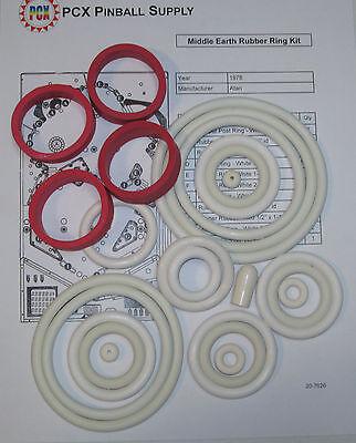 1978 Atari Middle Earth Pinball Machine Rubber Ring Kit | eBay