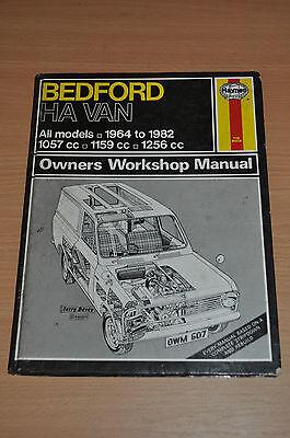Haynes Reparaturanleitung H607 Bedford Ha Van 1964 - 1982 Ow Manual