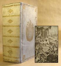 1779 Wappen-Einnband Dutch Prize Binding historiae romanae Velleius Paterculus