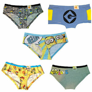 Minion in panties Despicable Me Minions Womens Panty Underwear Ebay