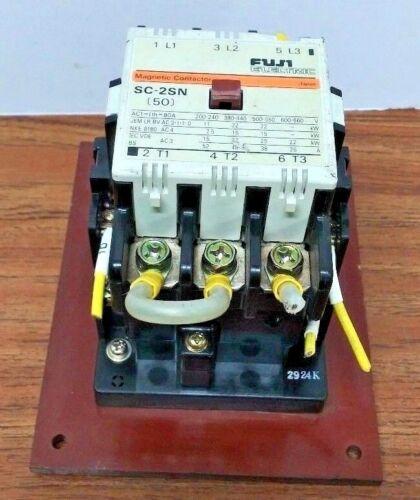 50 Fuji Electric SC-2SN 3ph Magnetic Contactor Motor Starter