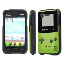 LG Optimus Fuel / Zone 2 Total Cover Phone Case - Game Boy Color