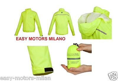 TUCANO URBANO 765 Giacca Antipioggia Nano Rain Jacket Plus Nero L