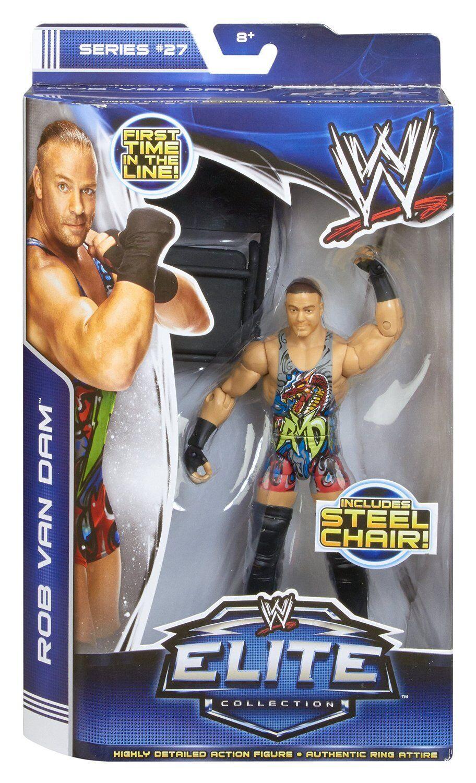 WWE ROB VAN DAM FIGURE ELITE SERIES 27 WRESTLING RVD FIRST IN LINE