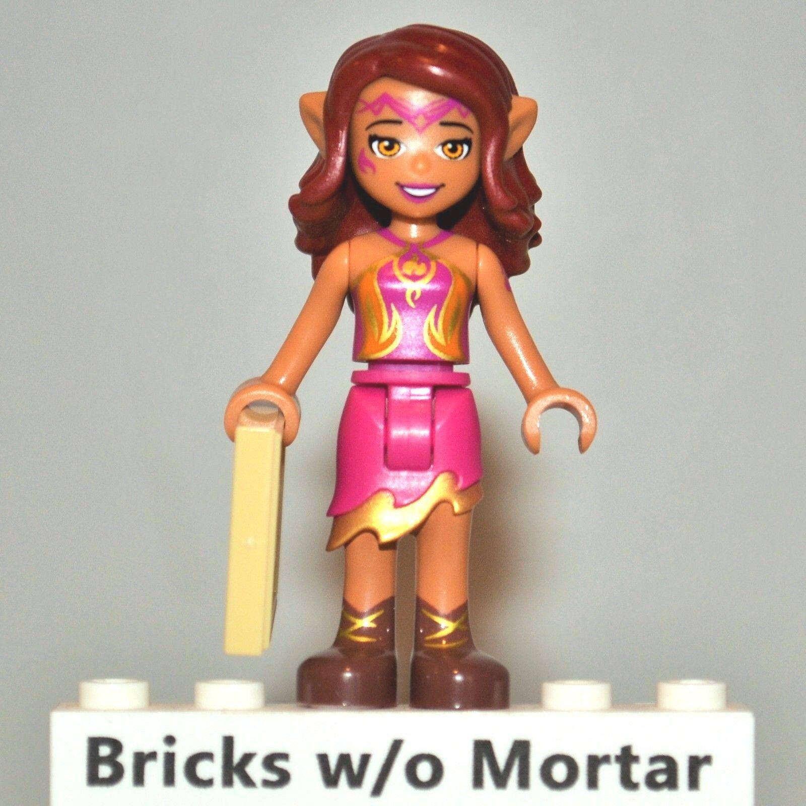 New Genuine LEGO Azari Firedancer Minifig Elves 41185