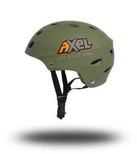 AXEL OFF ROAD JEEP UTV ATV 4x4 Trail Helmet Matte Charcoal Size X-Small XS