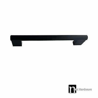 One Kitchen Cupboard Door/ Drawer Handle (96mm) – Matt Black Handles (1027MB)