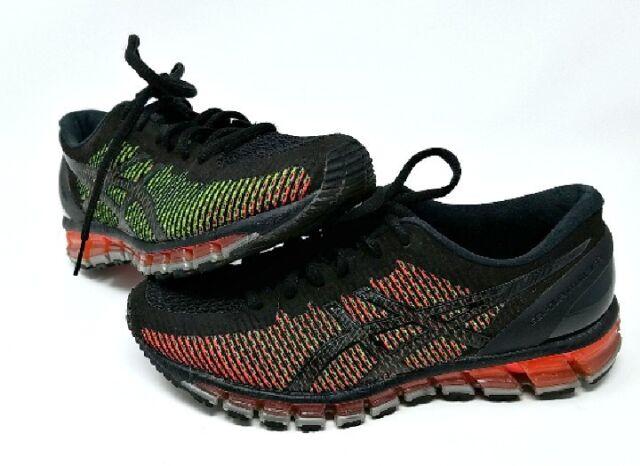 new style 06b99 6712f Asics Gel Quantum 360 CM Mens Running Shoes Black Green Gecko White T6G1N  9001