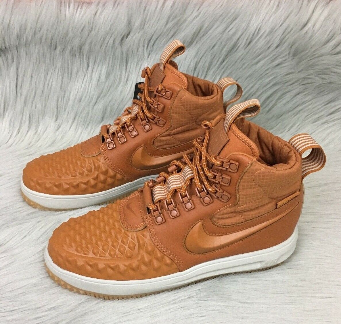 New Nike Lunar Force 1 Duckboot Shoes (Size 7.5)