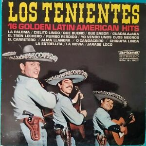 Scheibe-33-Time-Los-Tenientes-16-Golden-Latin-American-Hits