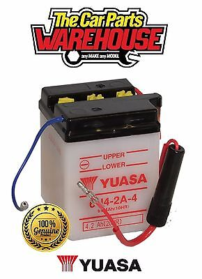 6N4-2A-4 Genuine Yuasa Motorcycle ATV Quad Buggy Battery X Without Acid X