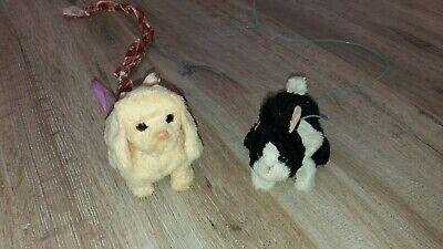 süßer HASBRO Fur Real Friends PomPom Pudel Walkin/' Puppies Hündchen Welpe PINK