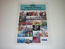 SEGA games catalog ~ sistema Master / Master System II