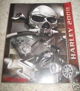 2008 Kuryakyn Motorcycle Parts Catalog Harley Ebay