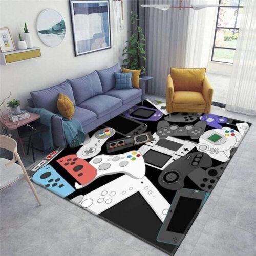 Gamer Controller Area Rugs Non-Slip Floor Mat Doormats Home Runner Rug Carpet